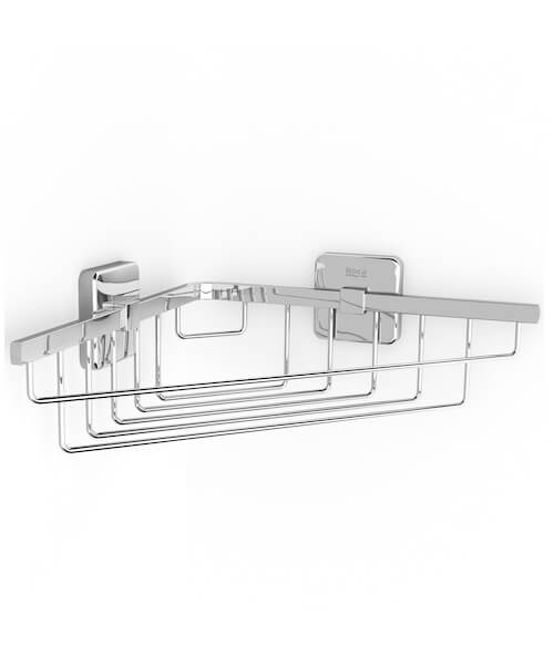 Roca Victoria Grilled Corner Container Or Soap Holder 210 x 210mm
