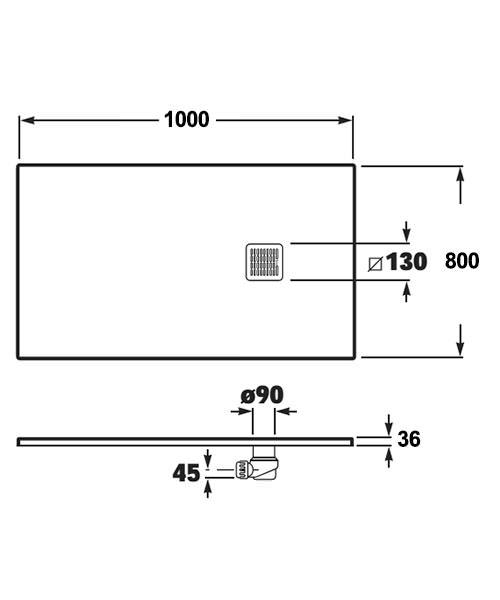 Technical drawing 32708 / P1023E832041100