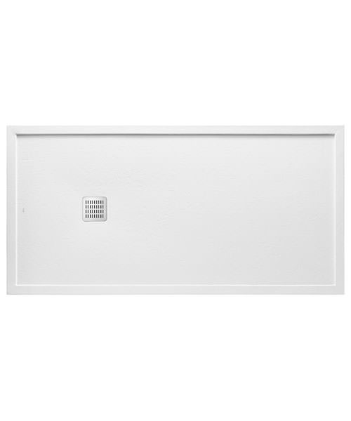 Roca Terran 1200 x 800 x 38mm Superslim Stonex Shower Tray With Frame