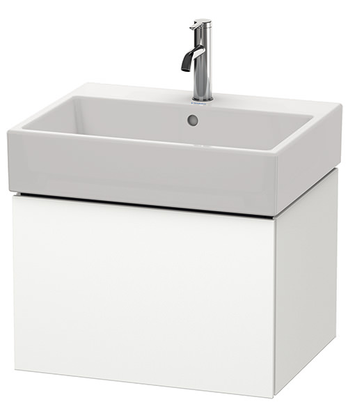 Duravit L-Cube 584mm Single Drawer Vanity Unit With Vero Air Basin