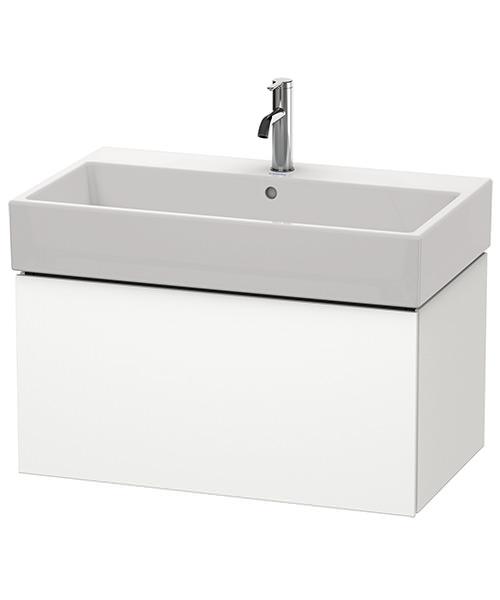 Duravit L-Cube 784mm Single Drawer Vanity Unit With Vero Air Basin