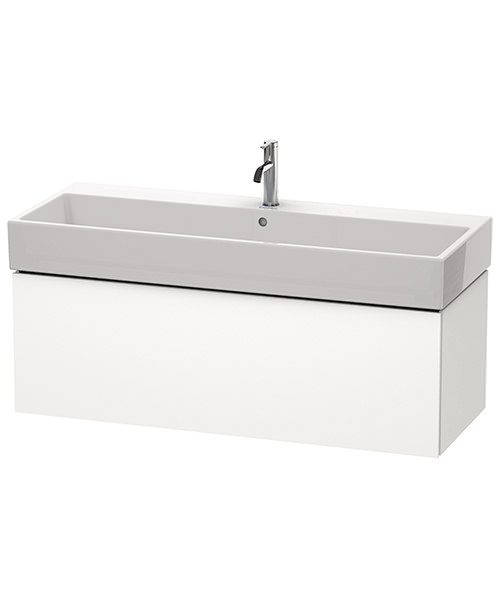 Duravit L-Cube 1184mm Single Drawer Vanity Unit With Vero Air Basin