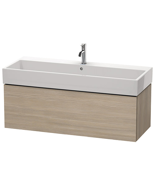 Additional image of Duravit L-Cube 1184mm Single Drawer Vanity Unit With Vero Air Basin