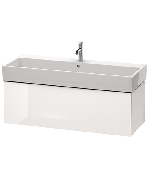 Alternate image of Duravit L-Cube 1184mm Single Drawer Vanity Unit With Vero Air Basin