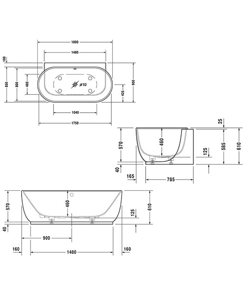 Technical drawing 50868 / 760433000AS0000