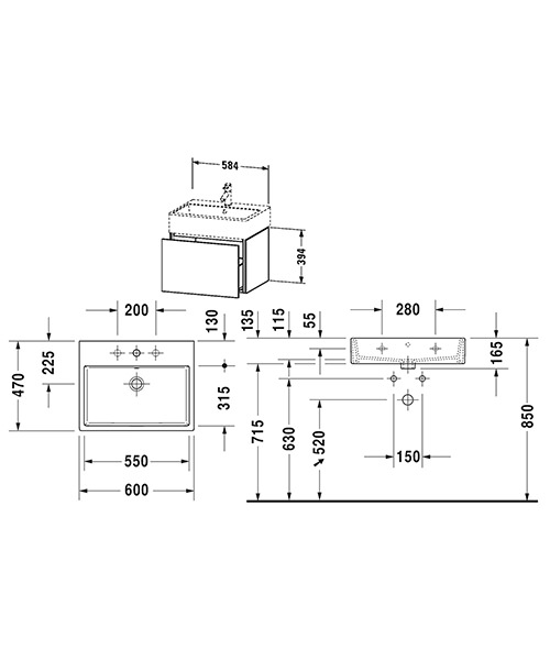 Technical drawing 53252 / LC617501818