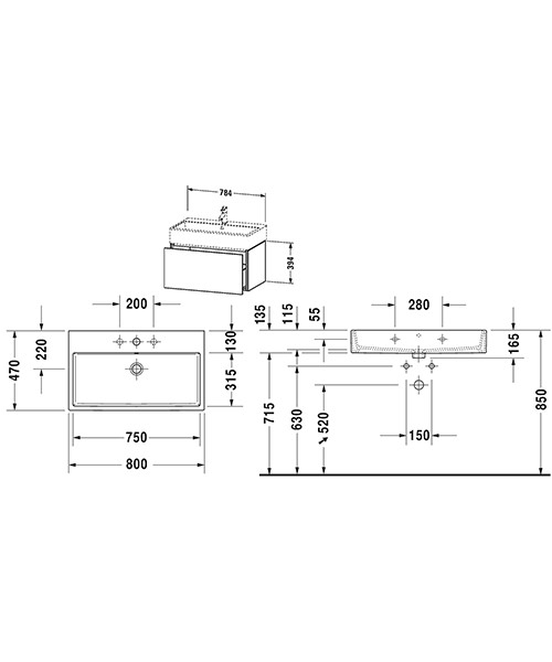 Technical drawing 53257 / LC617701818