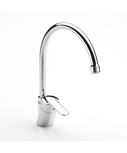 Roca Victoria-V2 Kitchen Sink Mixer Tap With High Swivel Spout