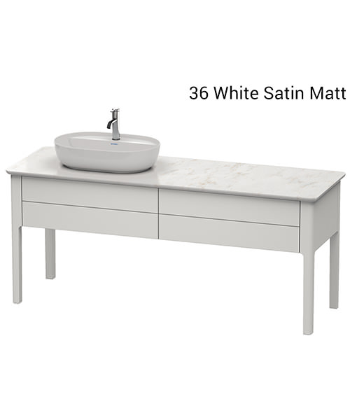 Duravit Luv 1733 x 570mm Left Handed Vanity Unit