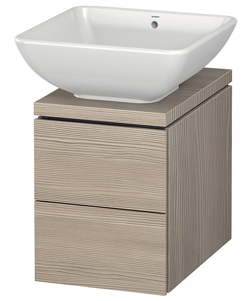 Additional image of Duravit L-Cube 320mm 2 Drawer Vanity Unit For Console