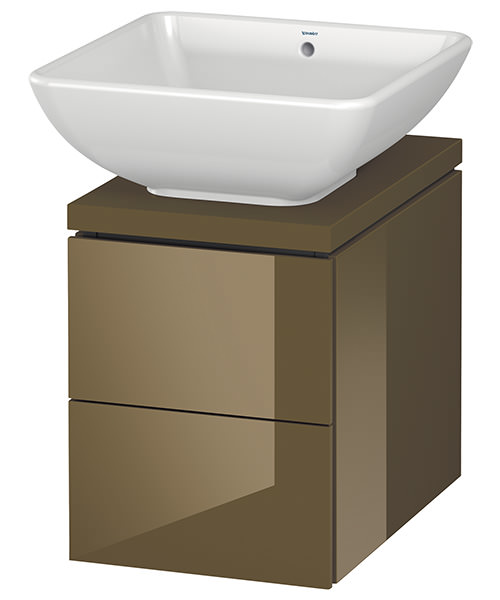 Alternate image of Duravit L-Cube 320mm 2 Drawer Vanity Unit For Console