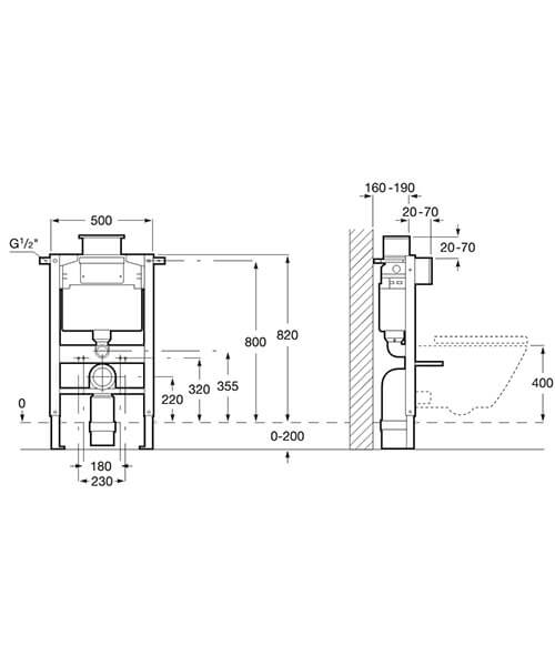 Technical drawing 32695 / 8901210A0
