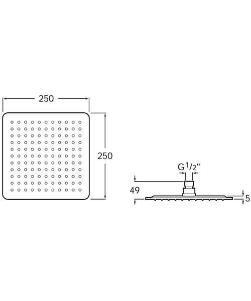 Technical drawing 56015 / 5B2450C00