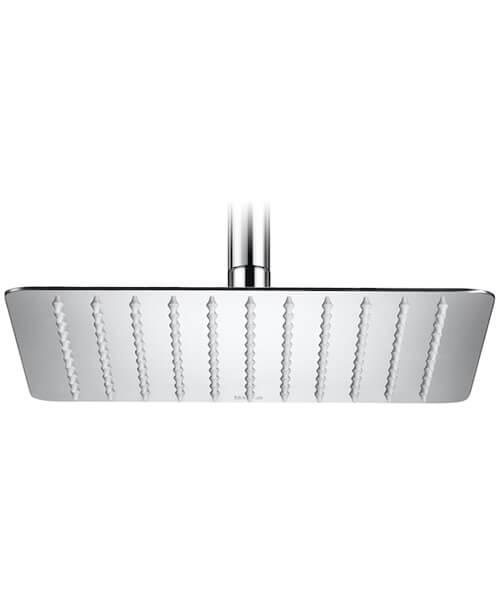 Roca Raindream Extraslim Metallic 250 x 250mm Square Shower Head
