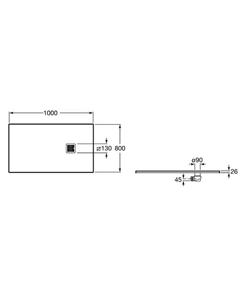 Technical drawing 32697 / P1013E832001100