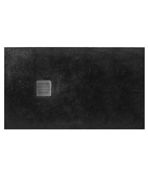 Alternate image of Roca Terran 1000 x 800mm Superslim Stonex Tray With Antislip Textured Surface