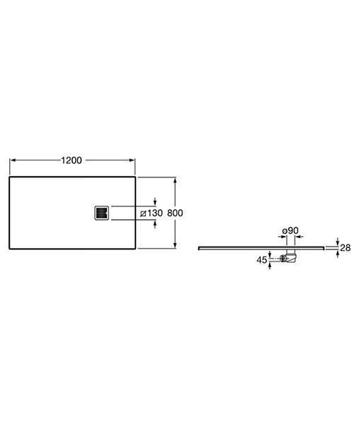 Technical drawing 32700 / P1014B032001100