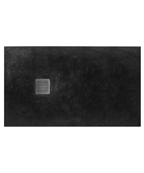 Alternate image of Roca Terran 1200 x 800mm Superslim Stonex Tray With Antislip Textured Surface