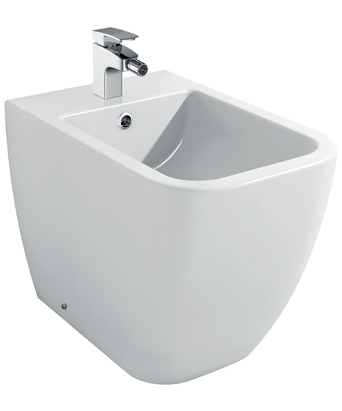 Pura Imex Essence 1 Tap Hole Floor Standing Bidet 520mm
