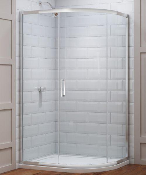 Merlyn 8 Series 1 Door Offset Shower Quadrant