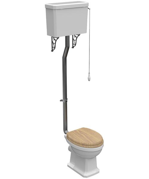 Pura Imex Wyndham Traditional High Level WC Set