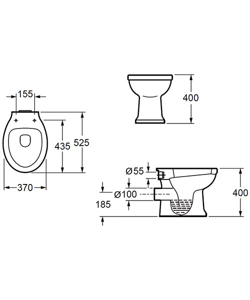 Technical drawing 49541 / CF10142