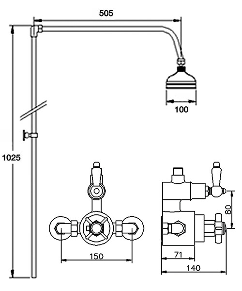 Technical drawing 28416 / CP148