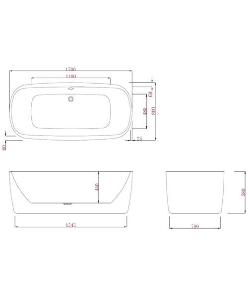 Technical drawing 49551 / PB1014