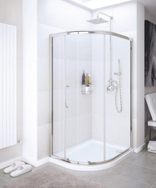Lakes Classic Single Door Quadrant Shower Enclosure 1000 x 1900mm