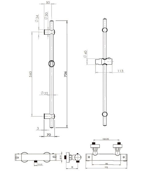 Technical drawing 49562 / XCSRSP