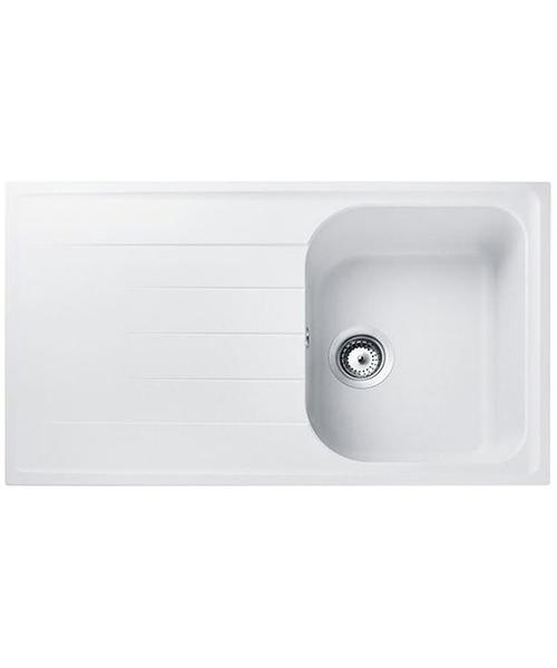 Rangemaster Amethyst 1 Bowl Igneous Granite Sink