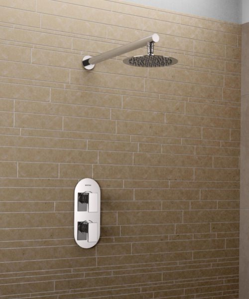 Bristan Sail Recessed Dual Control Shower Pack