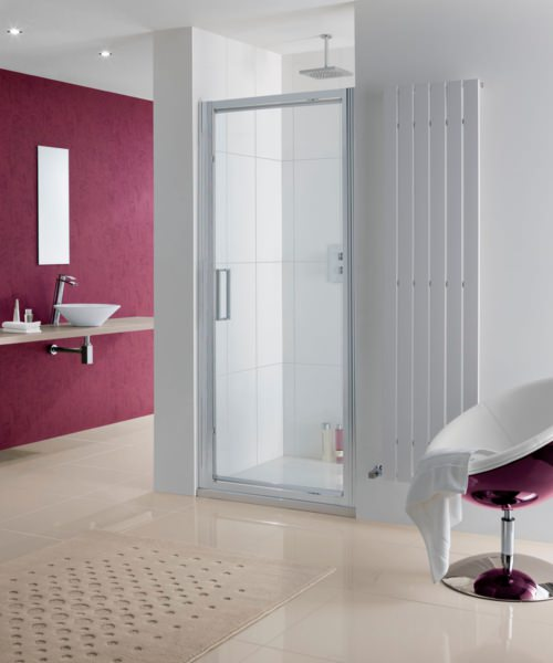 Lakes Coastline Narva 1000 x 2000mm Pivot Shower Door
