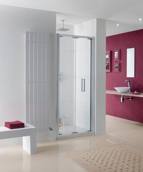 Lakes Coastline Bergen 900 x 2000mm Bi-Fold Shower Door