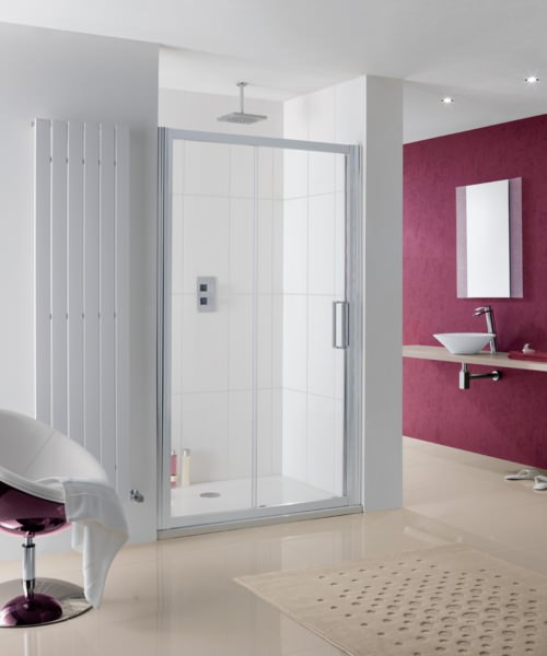 Lakes Coastline Talsi 1700 x 2000mm Slider Shower Door