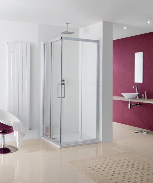 Lakes Coastline Malmo 700 x 700mm Corner Entry Shower Enclosure
