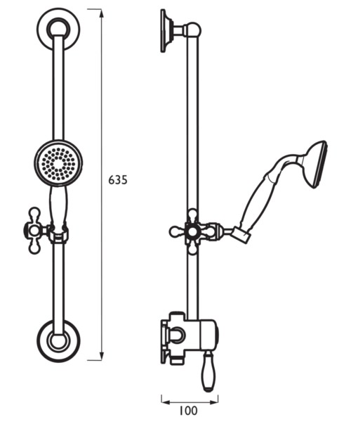 Technical drawing 51378 / TRD KIT01 C