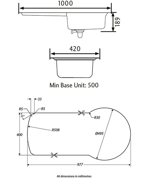 Technical drawing 39026 / KY10001/