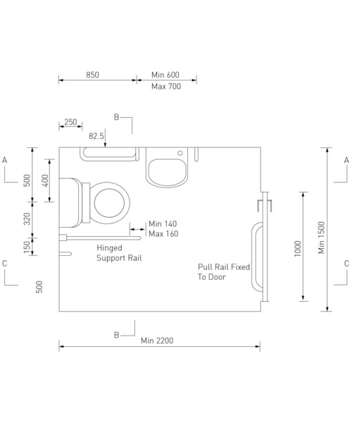 Technical drawing 51398 / DOCM-T3 B