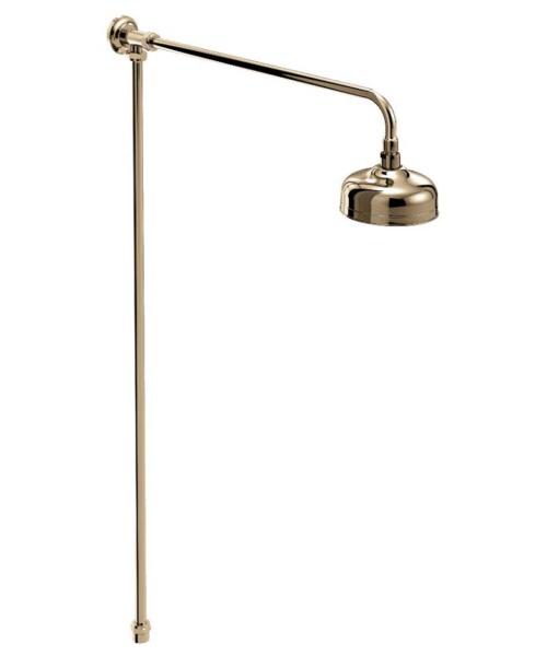Bristan Traditional Rigid Riser Shower Kit Gold