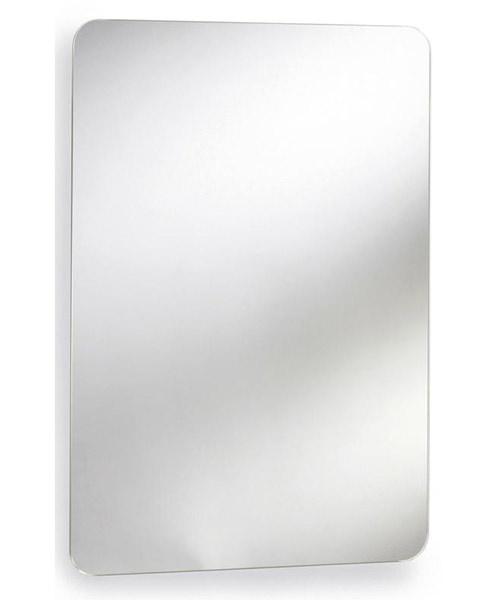 Lauren Austin 460 x 660mm Stainless Steel Mirrored Cabinet