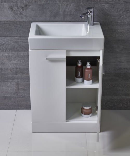 Additional image of Tavistock Kobe 560mm Freestanding Vanity Unit With Basin