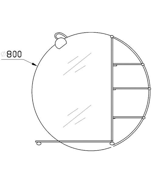 Technical drawing 12914 / LQ310