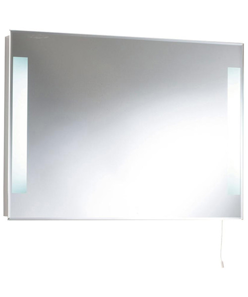 Lauren Adela 700 x 500mm Backlit Mirror With Light