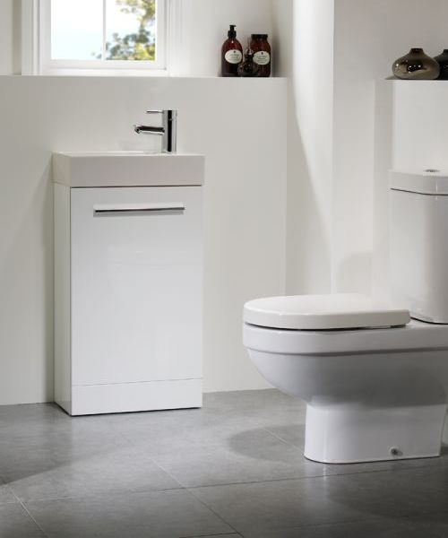 Additional image of Tavistock Kobe 450mm Freestanding Vanity Unit With Basin