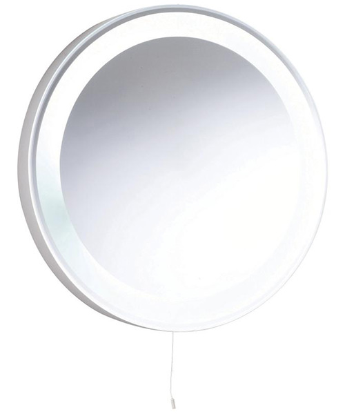 Lauren Verdi 550mm Round Backlit Mirror With Light