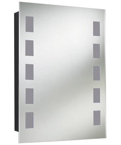 Lauren Argenta 500mm Single Door Mirrored Cabinet
