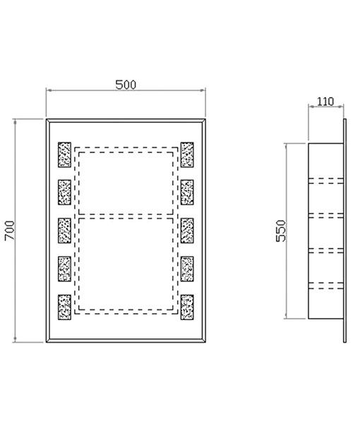 Technical drawing 12911 / LQ377