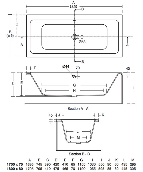 Technical drawing 42393 / E258301