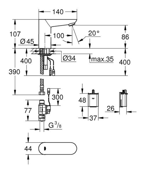 Technical drawing 51698 / 36271000